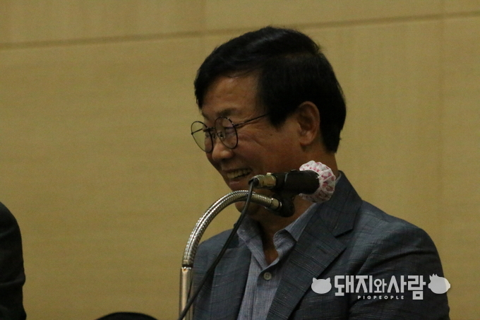 박최규 교수(경북대 수의대)@돼지와사람